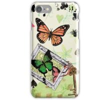 Butterflies and Playing Cards iPhone Case/Skin