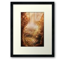 CT: A Hero is Born [Chronicles of Time] Framed Print
