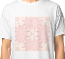 Romantic in pink and grey Classic T-Shirt