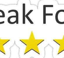 5 Star Weak Foot Sticker