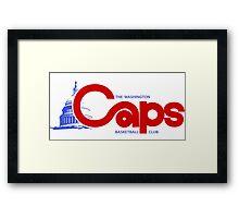 DEFUNCT - WASHINGTON CAPS Framed Print
