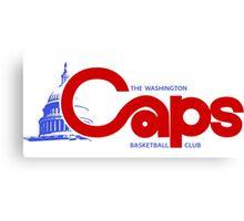 DEFUNCT - WASHINGTON CAPS Canvas Print
