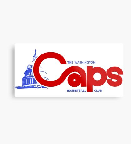 DEFUNCT - WASHINGTON CAPS Metal Print