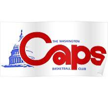 DEFUNCT - WASHINGTON CAPS Poster