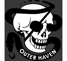 MGS - Outer Haven Skull Photographic Print