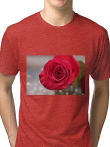 Rosy red Tri-blend T-Shirt