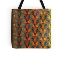 Peacock Feathers II Tote Bag