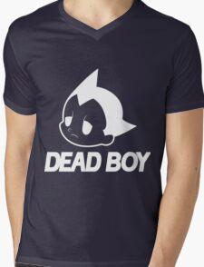 DEAD BOY BLACK Mens V-Neck T-Shirt