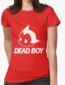 DEAD BOY BLACK Womens Fitted T-Shirt