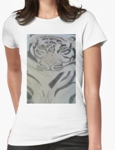 Fearless Tiger Womens Fitted T-Shirt