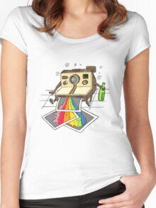 Vomit Camera Women's Fitted Scoop T-Shirt