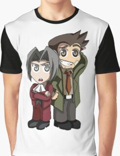 Partners in Solving Crime Graphic T-Shirt