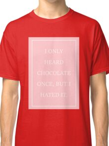 Pink The 1975 Classic T-Shirt