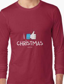 i like Christmas (with you) Long Sleeve T-Shirt