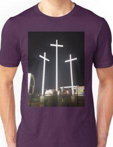 Trois Croix Jesus Unisex T-Shirt