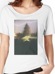 a fire starts to burn Women's Relaxed Fit T-Shirt