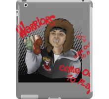 The Warriors come out to play iPad Case/Skin