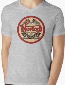 Norton - distressed sign Mens V-Neck T-Shirt