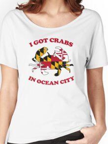 Ocean City Crabs Women's Relaxed Fit T-Shirt