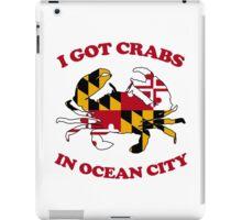 Ocean City Crabs iPad Case/Skin