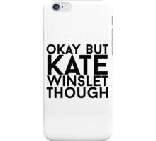 Kate Winslet iPhone Case/Skin