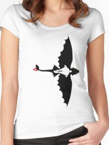 How to Train Your Dragon 2 Women's Fitted Scoop T-Shirt