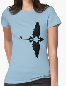 How to Train Your Dragon 2 Womens Fitted T-Shirt