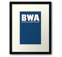 BWA Kevin Gates Bread Winners Framed Print