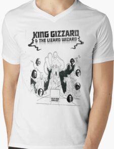 King Gizzard & The Lizard Wizard Mens V-Neck T-Shirt