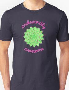 Awkwardly Awesome - Green Cactus Unisex T-Shirt