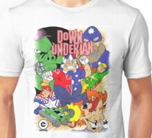 Down-Underian issue 1 comic cover. Unisex T-Shirt