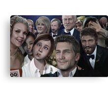 ND selfie Canvas Print