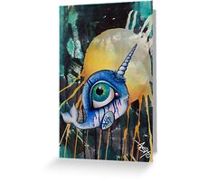narwhal_s light Greeting Card