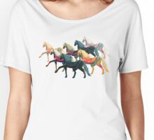 HERD OF PAINTED HORSES Women's Relaxed Fit T-Shirt
