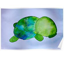 turtle. Poster