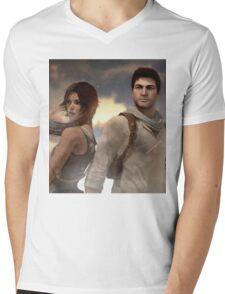 Adventurers Mens V-Neck T-Shirt