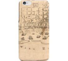 American Revolutionary War Era Maps 1750-1786 977 To the mayor recorder aldermen common council and freemen of Philadelphia this plan of the improved part of iPhone Case/Skin