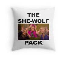 Fuller House  She-wolf Pack Throw Pillow