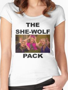 Fuller House  She-wolf Pack Women's Fitted Scoop T-Shirt