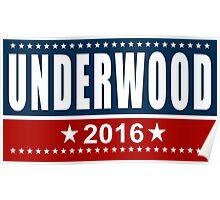 Underwood 2016 Poster