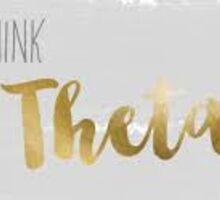 Think Theta Sticker
