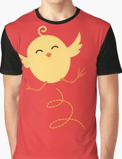 Chick and Eggs Graphic T-Shirt