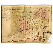 American Revolutionary War Era Maps 1750-1786 978 To the right honourable the Earl of Shelbourne His Majesty's principal Secretary of State for the Southern Poster