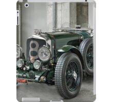 british racing green iPad Case/Skin