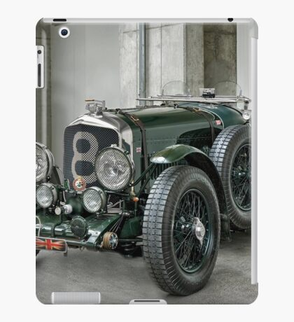 british racing green iPad Case/Skin