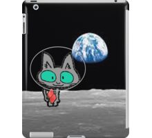 Cat On The Moon iPad Case/Skin
