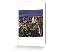 NEW YORK 1 Greeting Card
