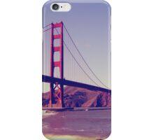 San Francisco, Golden Gate Bridge iPhone Case/Skin
