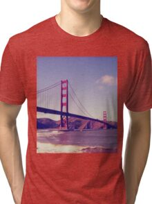 San Francisco, Golden Gate Bridge Tri-blend T-Shirt