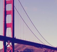 San Francisco, Golden Gate Bridge Sticker